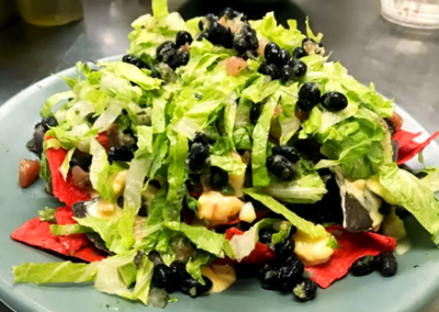 healthy salad  with black beans from Allegheny Mariner